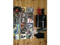 PS3 Console 40 GB with games