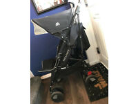 Maclaren Pushchair Techno XT black and silver great condition
