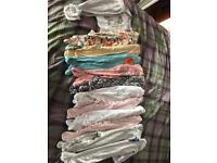 12 girls next sleep suits all immaculate age 6/9 months