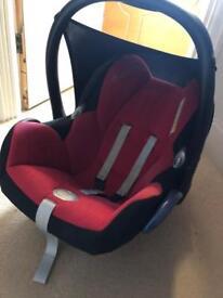 Maxi cosi car seat' isofix