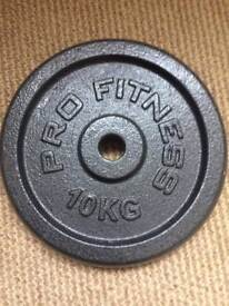 2 pro fitness weights 10kg