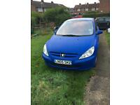 Peugeot 307 1.6s AUTO Very LOW miles Long MOT