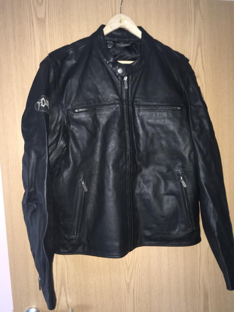 Harley Davidson genuine leather motorcycle jacket