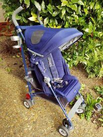 Maclaren Bmw pushchair with extras footmuff