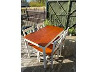 *PENDING COLLECTION* Dining table and chairs