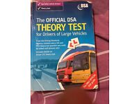 Bus and lorry theory test book with code