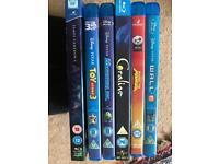6 Children's Blu Ray discs