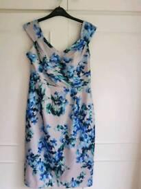 Monsoon Occasion Dress Size 12