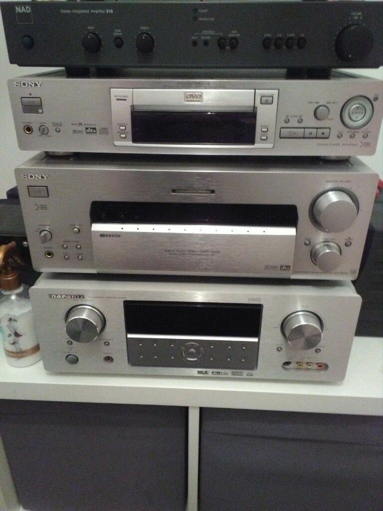 Sony 930qs Av Receiver And Sony Dvd Player No Offers In