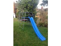 Free if collected TP metal climbing frame with platform and slide