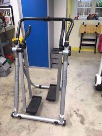 Gravity strider / manual cross trainer