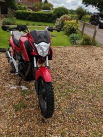 Honda CB125F 2016, 5200miles
