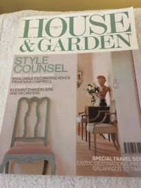 House & Garden & Other Magazines etc