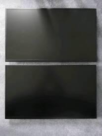 "2 x iiyama Prolite 24"" E2481HS 1080p monitors plus Von Haus mounts"