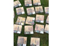Italian tiles x 198 (approx) - unopened - 6 scenes