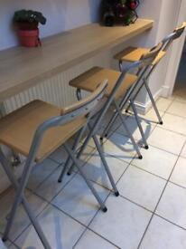 Kitchen bar stools.