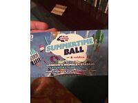 2 x Capital fm summertime ball tickets
