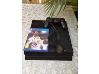 PS4 black (500 gb)