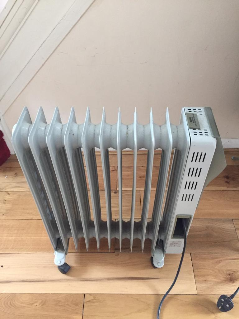 Large Oil Electric Radiator Heater Airforce In Selly