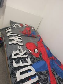 Single Bed Frame and base for sale - Used in good condition