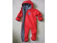Waterproof All in one suit for 12 to 18 month baby, JoJo Maman Bebe