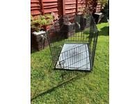 XL anti chew dog cage
