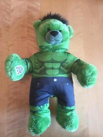 Hulk buildabear with sounds