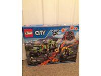 Lego 60124 City Volcano Exploration Base, NEW