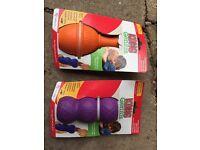 Kong dog toys £10 for both