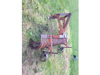 Land rake sand school leaving horse Menarge