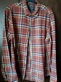Burton fitted shirt, size L