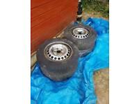 """Volkswagen T5 van or camper steel wheels 16"""""""