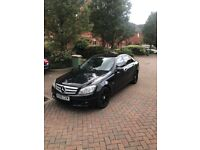 Black Mercedes Benz - Great condition and very low mileage