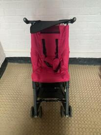 Reduced to clear Mothercare XXS stroller with carry bag carry on luggage!!