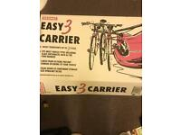 New never used 3 bike carrier to go on back of car