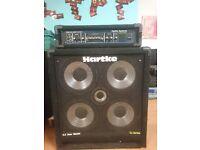Hartke Bass amp and head