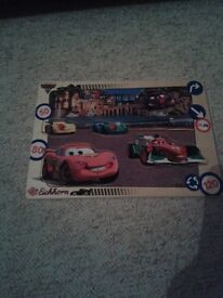 Cars wooden puzzle