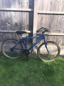 "RALEIGH DAYTONA 21 SPEED MOUNTAIN BIKE, 26"" WHEELS, 18"" ALUMINIUM FRAME,"