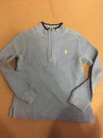Two Polo Ralph Lauren Boys Jumpers Age 7
