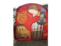 Lightning McQueen pop up play tent