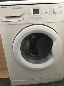 Washing machine free to collect