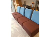 Office modular seating sofa chairs / Reception modular chairs, never been used