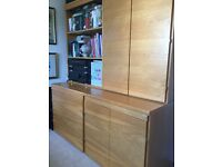 Study furniture. Solid wood. Designed from Buisness Interiors.