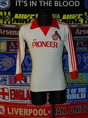 4/5 1. FC Koln adults S 1979 signed original football shirt jersey trikot soccer image