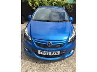 Vauxhall Corsa VXR Arden blue edition, 2012 Reg, 1 previous owner, FSH