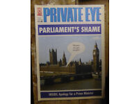 Private Eye magazines - over 500 copies