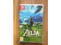 The Legend of Zelda Breath of the Wild (Nintendo Switch) , brand new & sealed ! price stands !!!!!