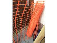 Orange site fencing