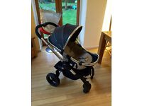 Icandy peach3 truffle with lower carry cot