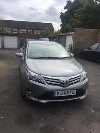 Toyota. Avensis with PCO licence and service package